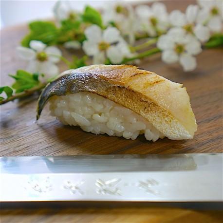 Nigiri skuša Aburi 炙り寿司