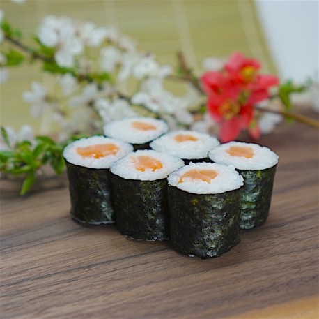 Maki losos サーモンの細巻